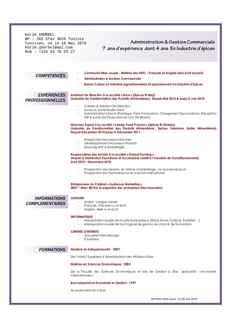 cv karim ghorbel pdf par samsung