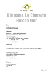 inscription big la chute du faucon noir 12 10 2014