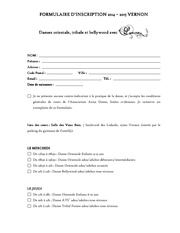 formulaire d inscription louna 2014 2015 vernon