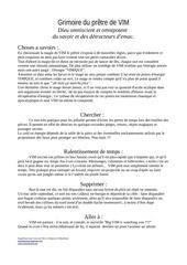 Fichier PDF magie vim