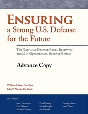 ensuring a strong u s defense for the future ndp review of the qdr 0