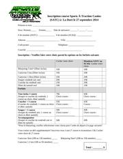 inscription course satc sept2014
