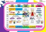 programme mini 1