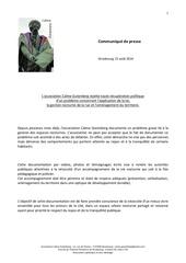 communique de presse cg du15082014