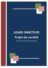 Fichier PDF projet de societe lignes directives adh