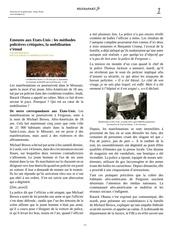 Fichier PDF emeutes aux etats unis les methodes policieres critiquees