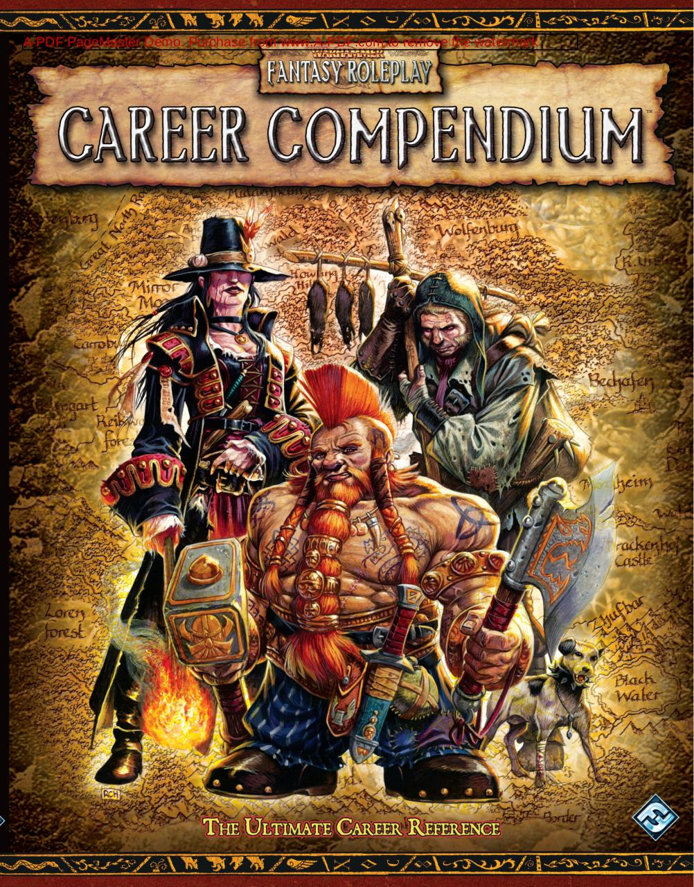 Aperçu du document warhammer fantasy roleplay 2ed - career compendium(1).pdf - page 1/249