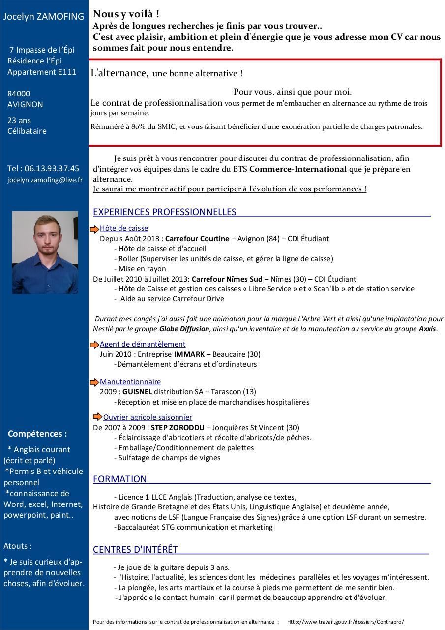 zamofing jocelyn-cv 2014 alternance pdf par joce