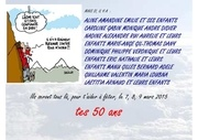 Fichier PDF carte invitation 50 ans