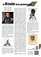 article moustache gendarmerie