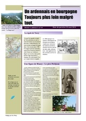 un ardennais en bourgogne journal mensuel juillet aout 2014