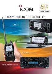icom amateur radio eur 2014
