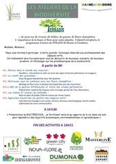 invitation ateliers de la biodiversite