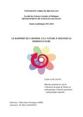 memoire rapport h nature dans la permaculture