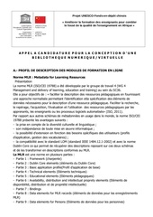 Fichier PDF profil de description des modules de formation en ligne 1