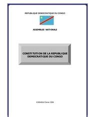 constitution de la rdc