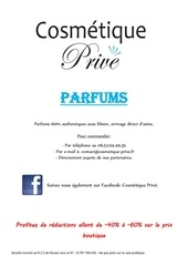catalogue parfum maquillage 25 aout 2014