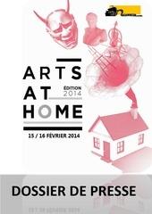 dossier de presse arts at home 2014 2