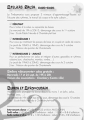 Fichier PDF flyer timbamania