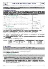 tp14 etude alcanes alcools correction