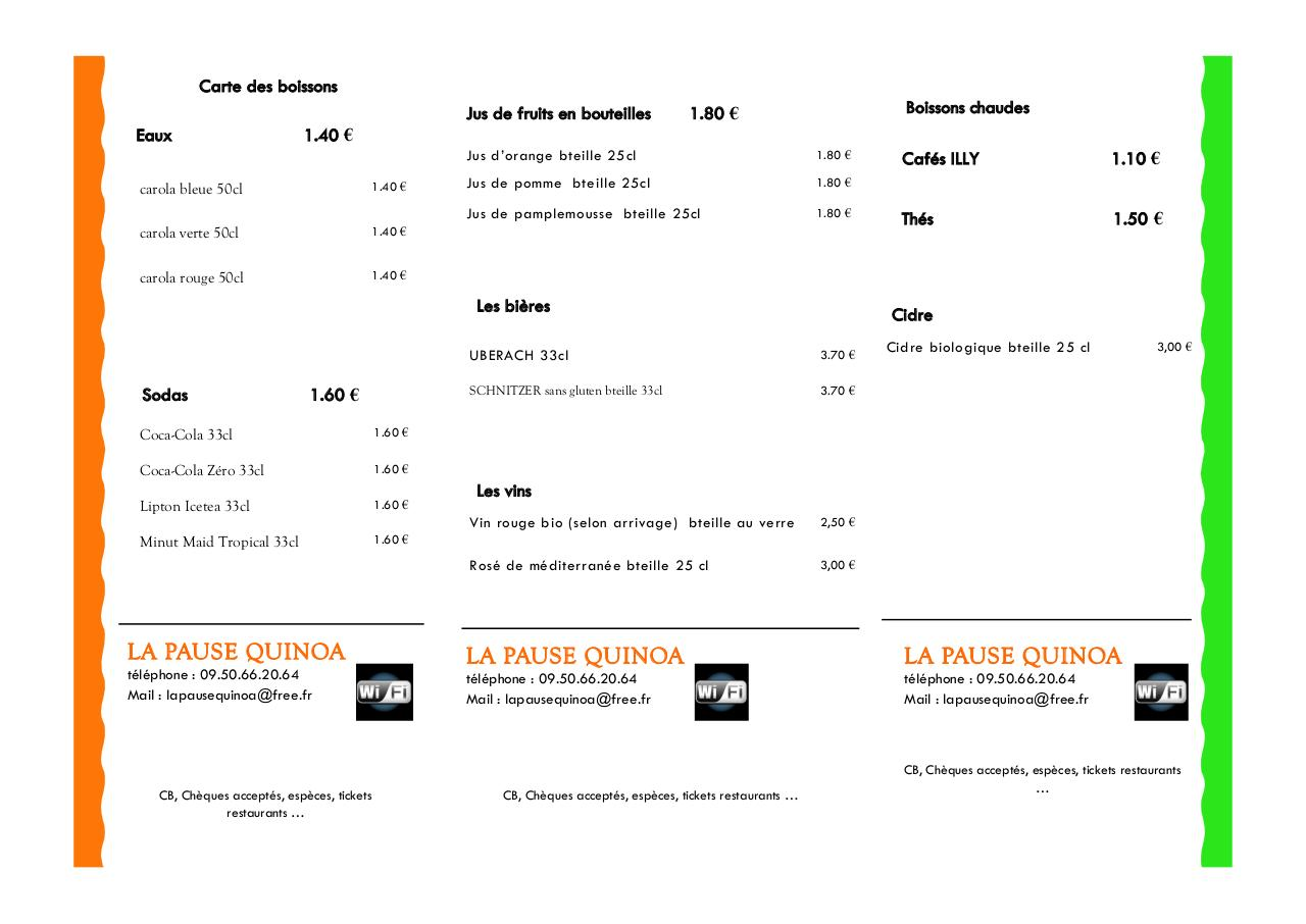 Aperçu du document carte LA PAUSE QUINOA v32 sept 2014.pdf - page 3/3