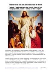 comment se preparer au retour du christ