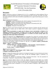 reglement avignon 2014