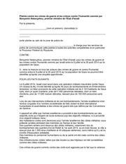 Fichier PDF plainte contre b netanyahou