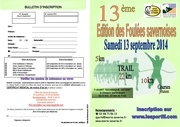 tract foulees savernoises 2014