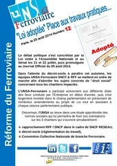 tract unsa communication reforme du ferroviaire n 12
