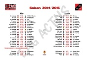 eag actus calendrier complet 1415