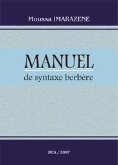 manuel de syntaxe berbere musa imarazen
