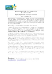 140830 communique de presse coulon reforme territoriale