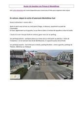 Fichier PDF acces a la location de vacances montelimar
