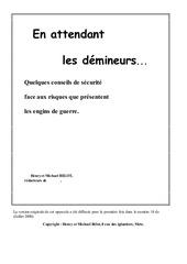 Fichier PDF serv deminage