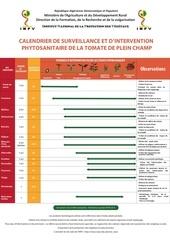 Fichier PDF calendrier de la tomate plein champ