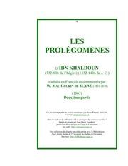 ibn khaldoun pro ii