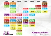 planning rentree 2014 2015
