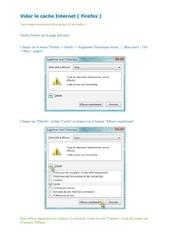 Fichier PDF vider le cache internet firefox