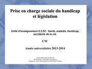 cm prise en charge sociale du handicap 2014 v2