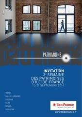 idf patrimoine invitation web