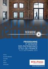 idf9031 patrimoine programme web