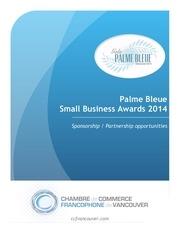 Fichier PDF palme bleue sponsorship 2014