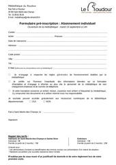Fichier PDF 2014 2015 formulaire pre inscription individuel mediatheque