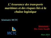 assurance transport risques lies a la chaine logistique