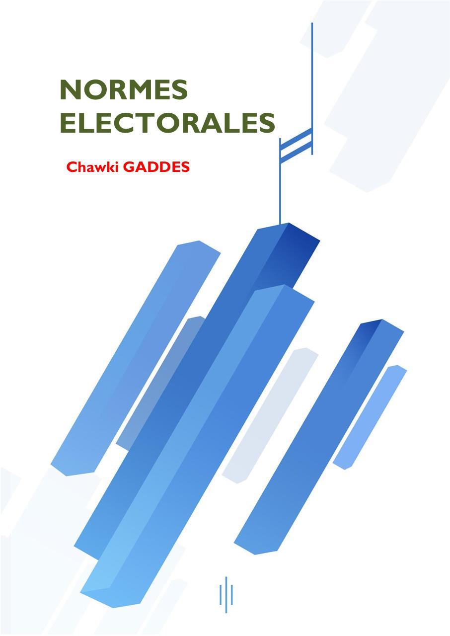 Chawki Gaddes Receuil Textes élections Fichier Pdf