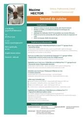 Fichier PDF cv hector maxime