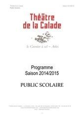 Fichier PDF saison 2014 2015 public scolaire v2