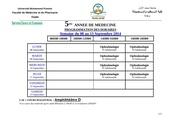 5eme annee semaine du 08 au 13 septembre 2014 1