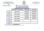 5eme annee semaine du 08 au 13 septembre 2014